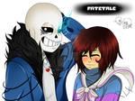 FateTale (own Undertale AU) SPEEDPAINT/ASK