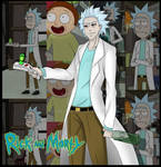 FanArt: Rick from Rick and Morty