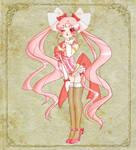 Burlesque-ish Sailor ChibiMoon
