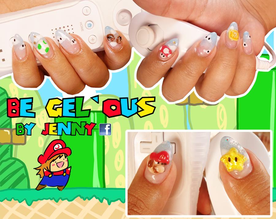 Nailin Mario by CandyRobot