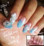 Nail Art: Cutie Blue