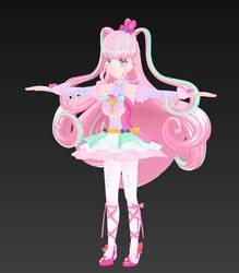 Wip: Sugar Bell (Third Attempt!) by CandyRobot