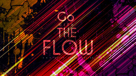 Go With The Flow Font Design by JerryJoshua