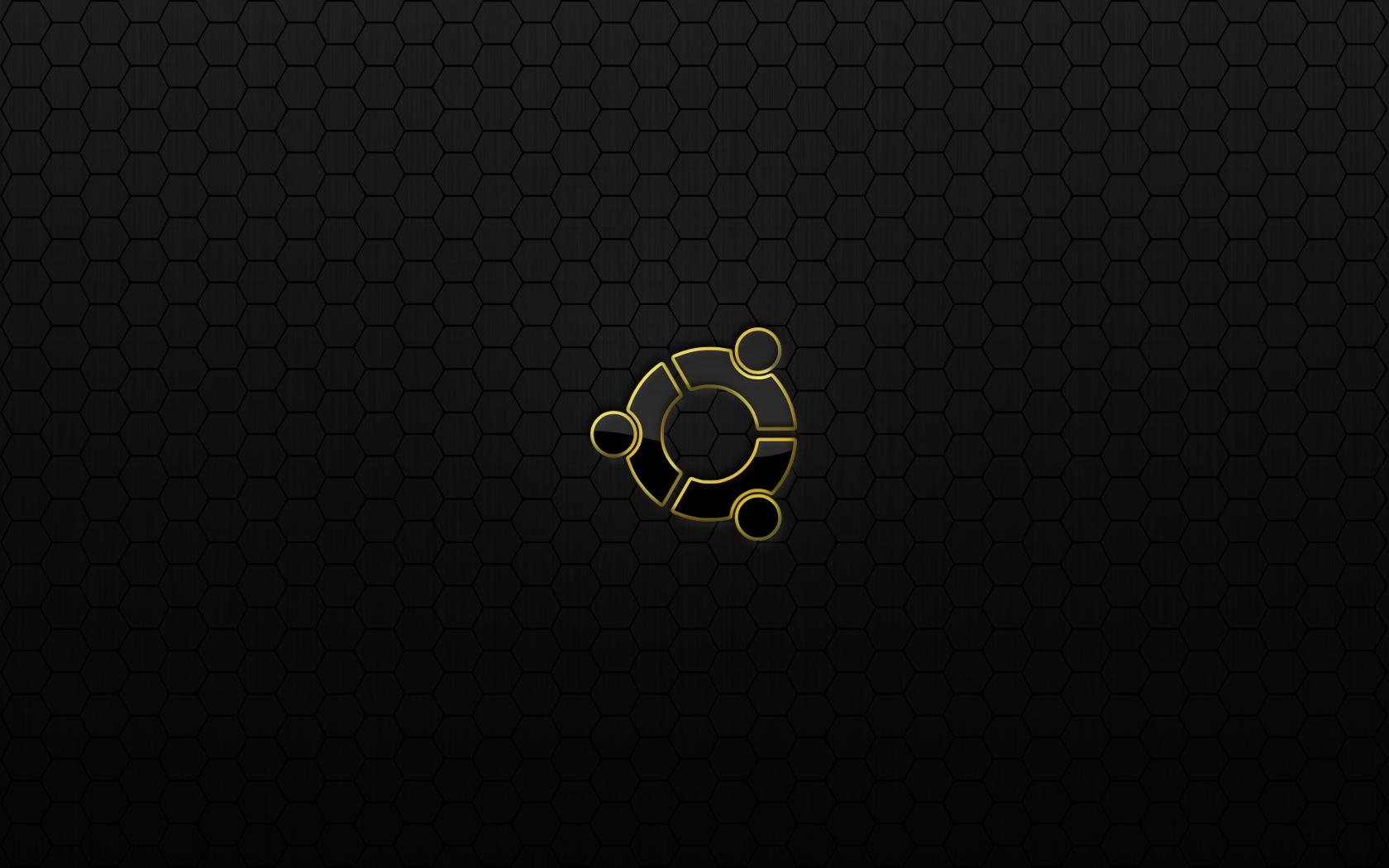 Ubuntu Black Metal Hex by monkeymagico