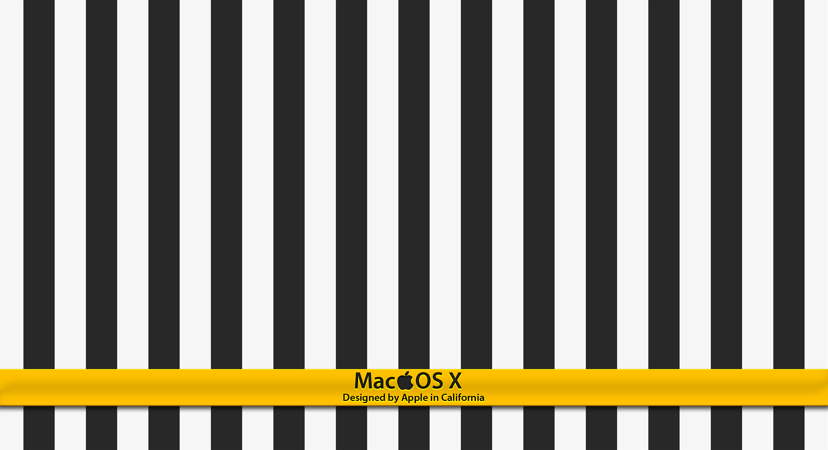 OS X  Striped by monkeymagico