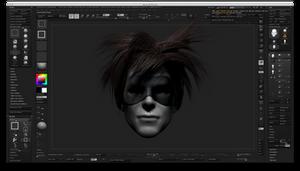 Screen Shot model and gui by monkeymagico