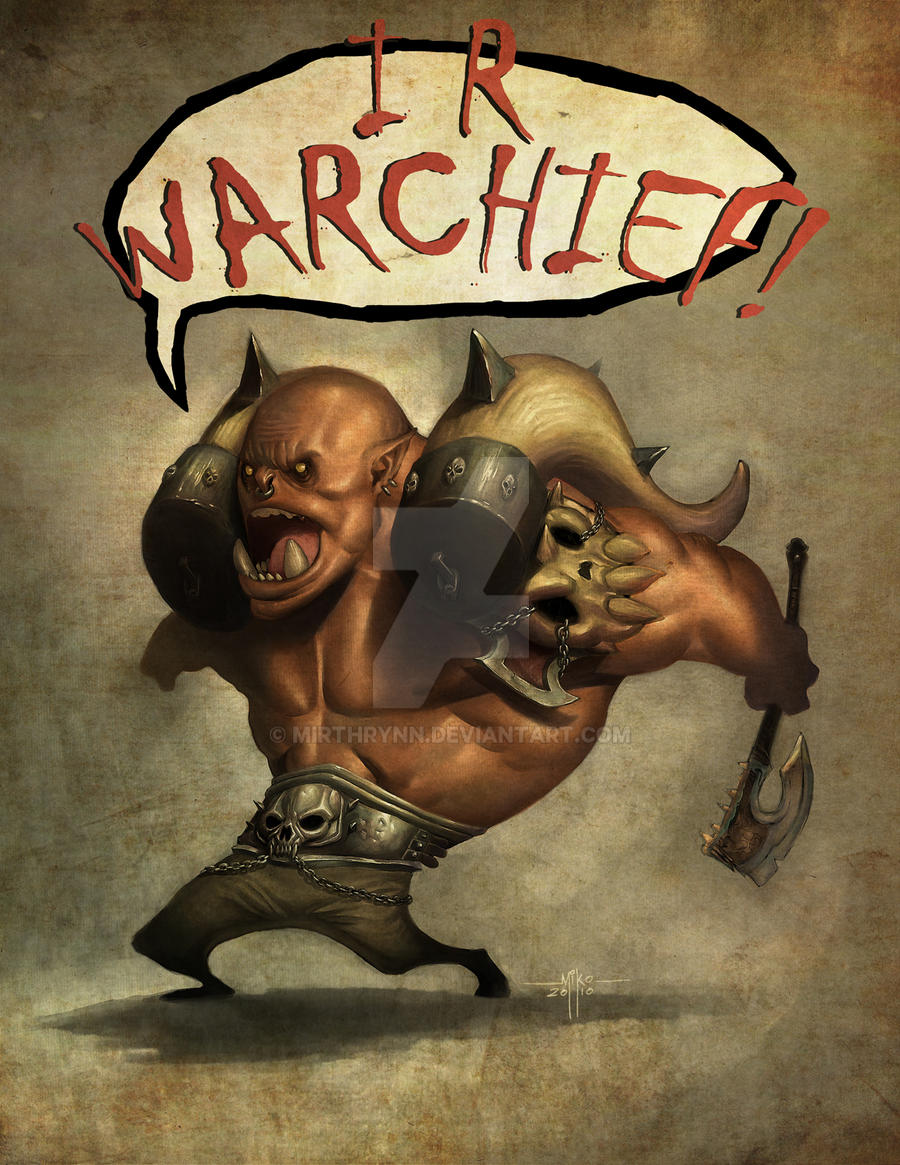 I R Warchief by Mirthrynn