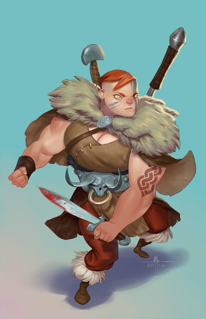 Ylva the Strong by Mirthrynn