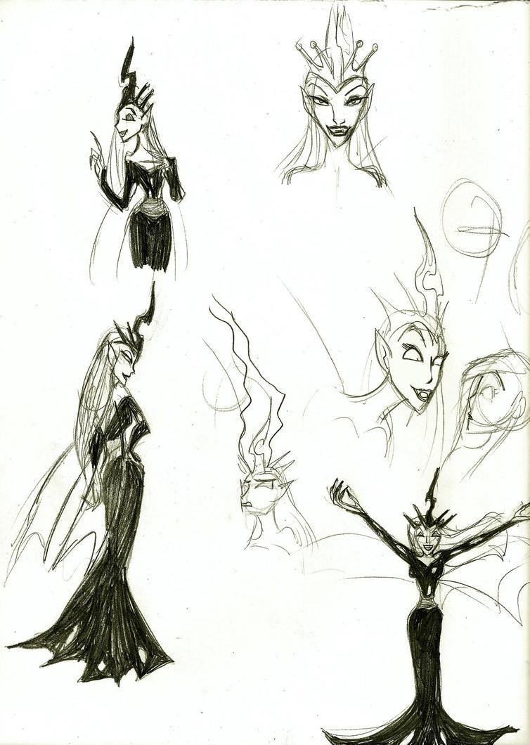 The Queen by DarthCraftus