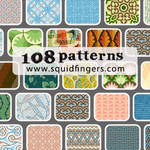 Pack Of 108 Patterns