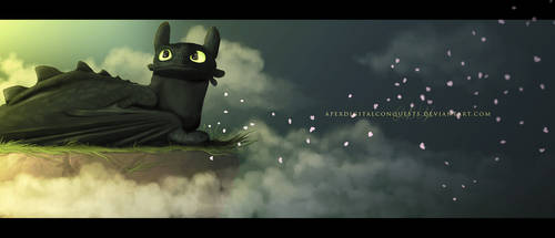 Toothless by aapex