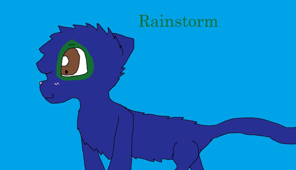 Rainstorm by Imnotgivingup