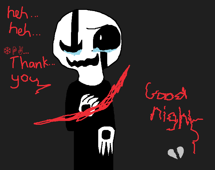 W.D Gaster by Imnotgivingup