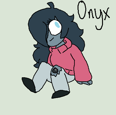*LINE ART NOT BY ME!!!!!* Onyx by Imnotgivingup