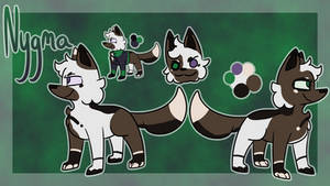 Nygma Ref by Imnotgivingup