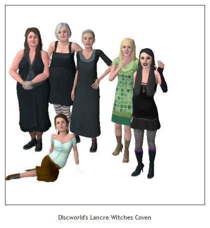Discworld Female Characters