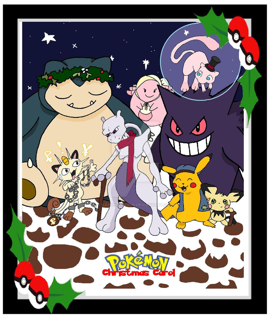 Pokemon Christmas Carol By Kaoshoneybun On DeviantArt