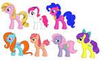 FIM My Little Pony Tales Girls