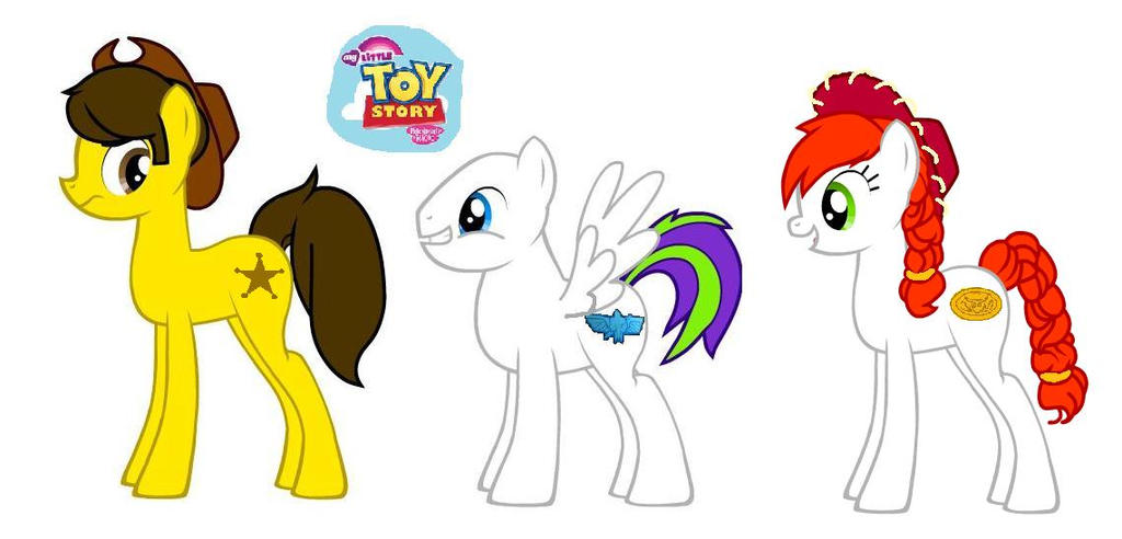 MLP FIM Toy Story by kaoshoneybun on DeviantArt