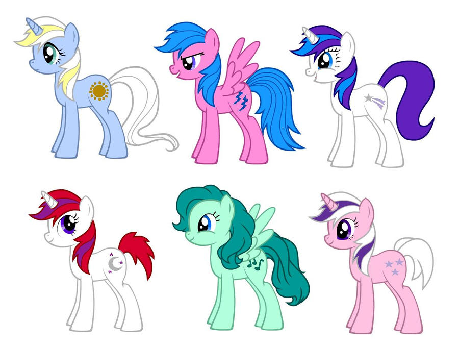 Pegasus Coloring Pages With Hair On There Hoofes