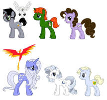 MLP FIM Harry Potter Ponies by kaoshoneybun