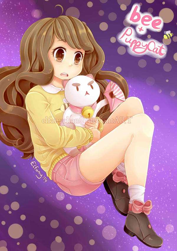 Bee and Puppycat by Elfany-Chan