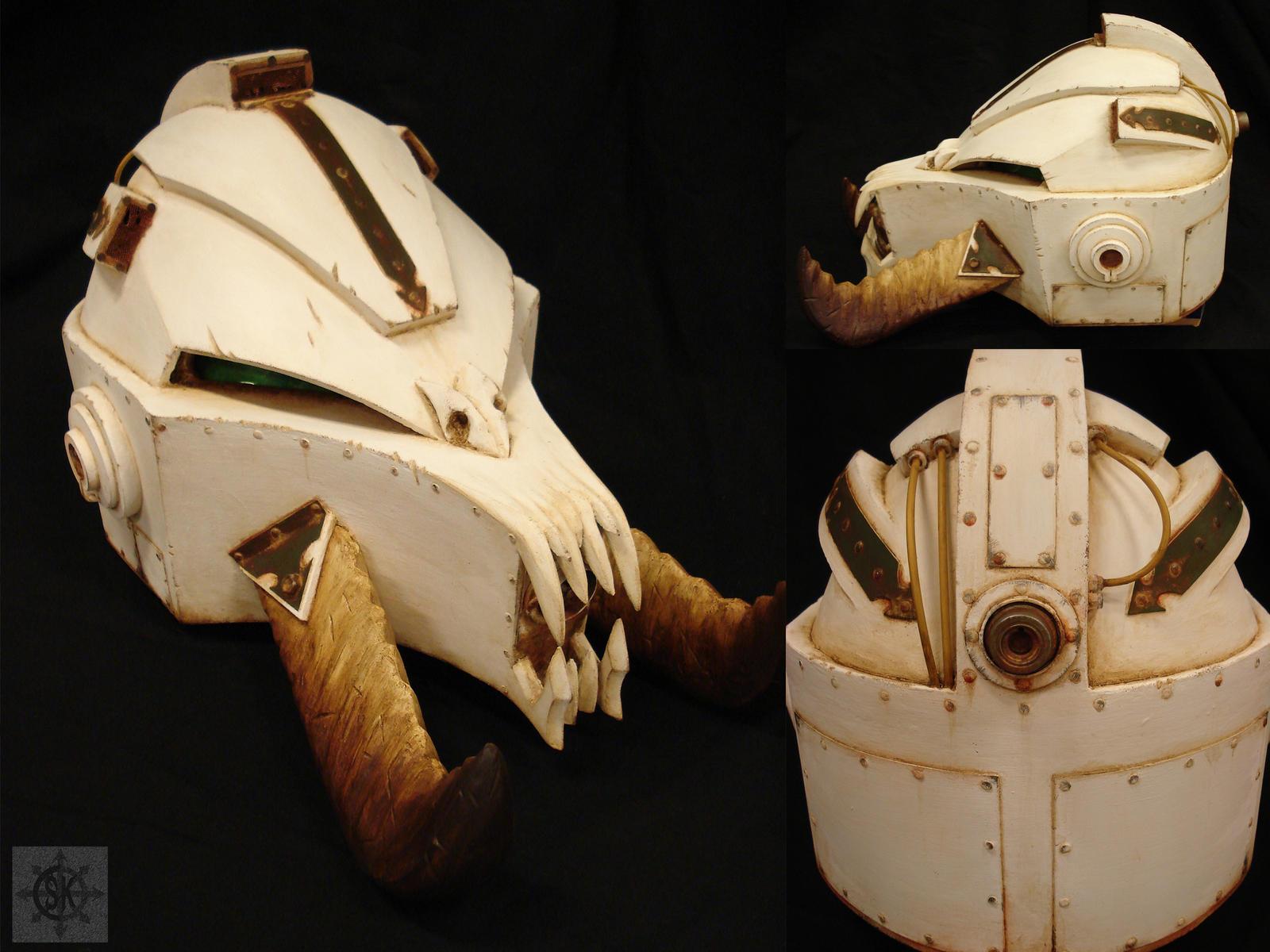 Terminator helmet by SK-OC