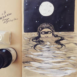 Inktober #3 by AnnieFliesAway