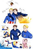 Steve and Johnny by kemiobsesses