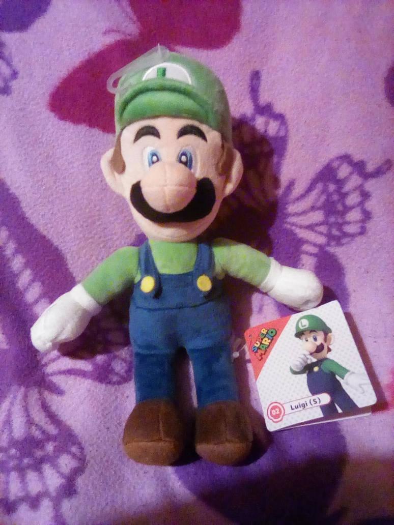 Sanei Super Mario Luigi All Star Collection plush