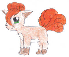 Kit the Vulpix by SesshaXIII