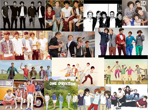 One Direction Collage by DaCrazy26 on DeviantArtOne Direction 2013 Collage Wallpaper