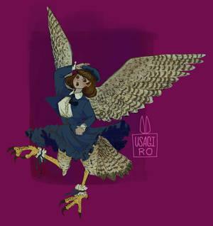 Day 1- Harpy by UsagiRo