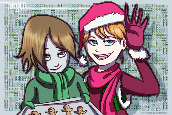 Happy Holidays by arger