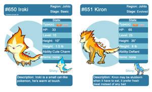 FAKEMON Iroki and Kiron