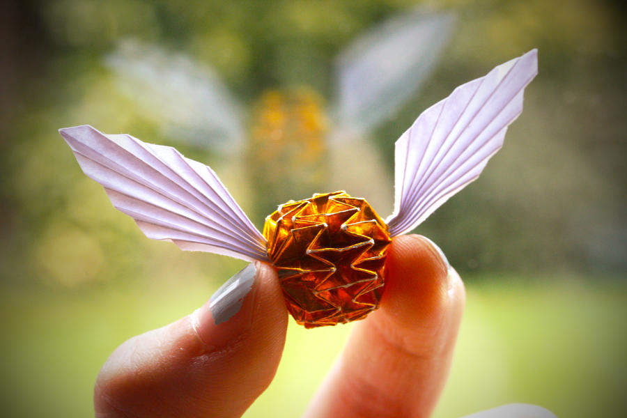 Golden Snitch By Synconi On Deviantart