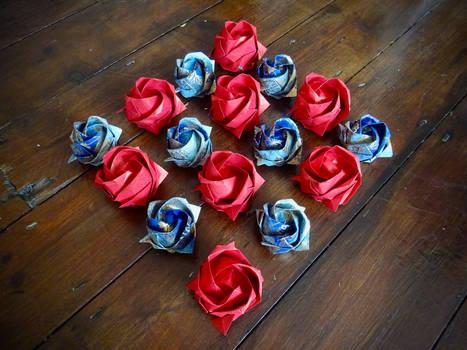roses in progress