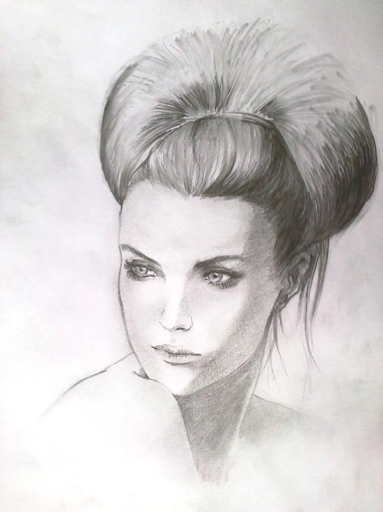 Portrait woman by DV930