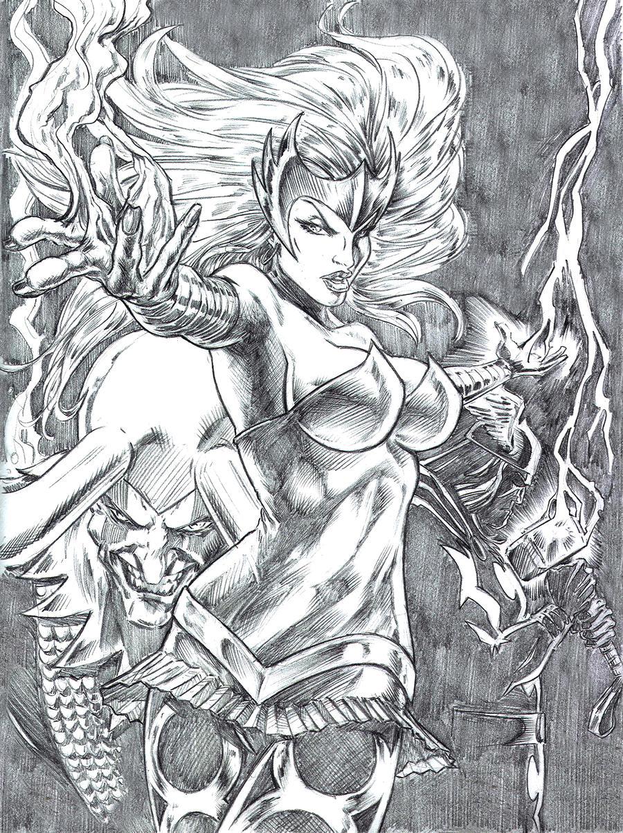 Asgard > Amora The_Enchantress_by_hadesillustrations