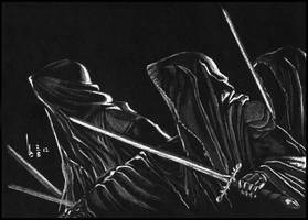 ...RINGWRAITH on Black Paper by twiens