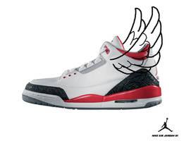 Nike Air Jordan III by KinKiat
