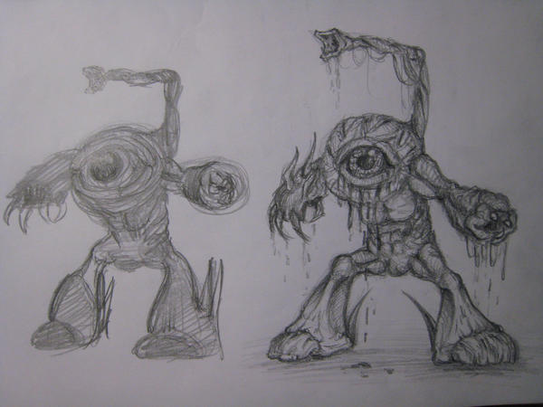 The Eye Progress by KinKiat
