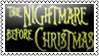 The nightmare before christmas by black-cat16-stamps