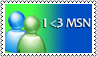 I love msn by black-cat16-stamps