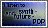 Synthandfuture pop stamp by black-cat16-stamps