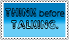 Think and talk by black-cat16-stamps