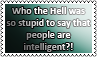 Intelligence of people STAMP by black-cat16-stamps
