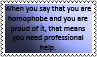 Homophobia WTF stamp by black-cat16-stamps