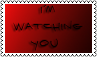 I am watching you by black-cat16-stamps