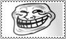 Trollface stamp by black-cat16-stamps